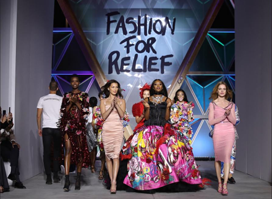 Cannes-Do Spirit: Fashion for Relief